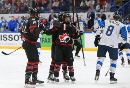 Bettez ramène le bronze au Canada