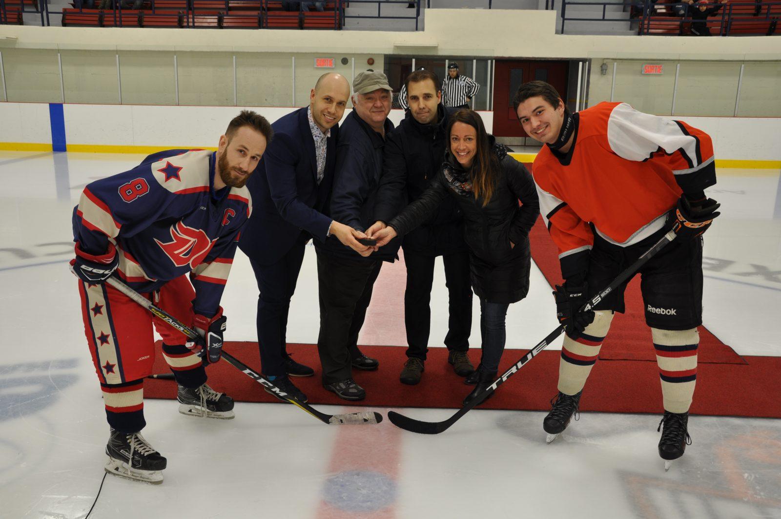 Port-Cartier rend hommage à Laurent Côté par le hockey