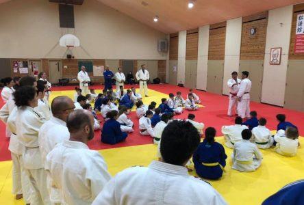 La saison de judo se poursuit pour l'Académie