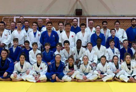 Les judokas de la région tirent profit d'un stage technique