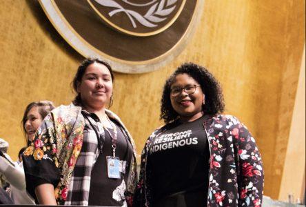 Deux cinéastes d'Ekuanitshit se font connaître à l'ONU