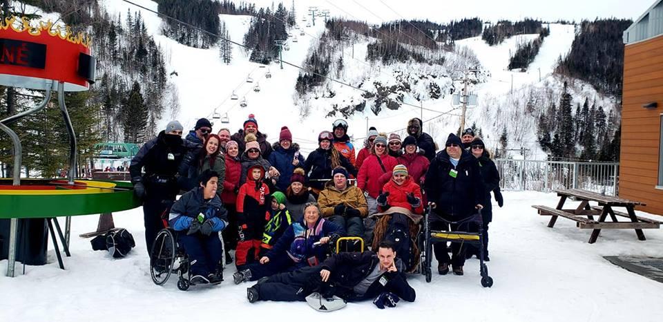 Tout le monde peut skier