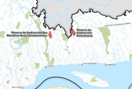 Deux réserves de la biodiversité deviennent permanentes