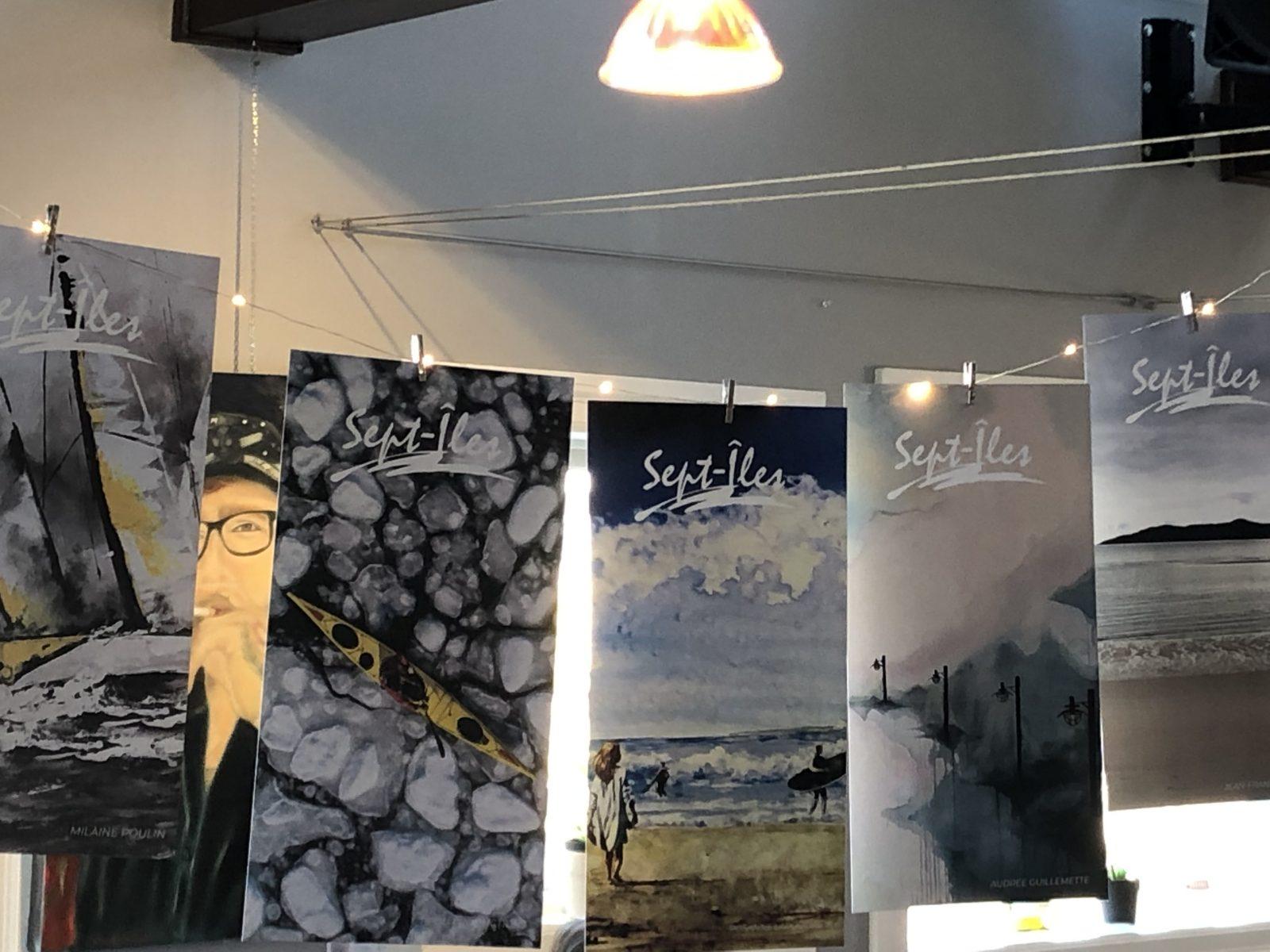 Les œuvres d'artistes locaux orneront le bas de la ville