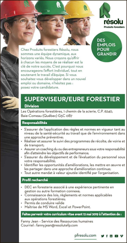Logo de SUPERVISEUR/EURE FORESTIER