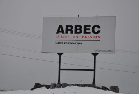 L'usine Arbec de Port-Cartier suspend ses activités