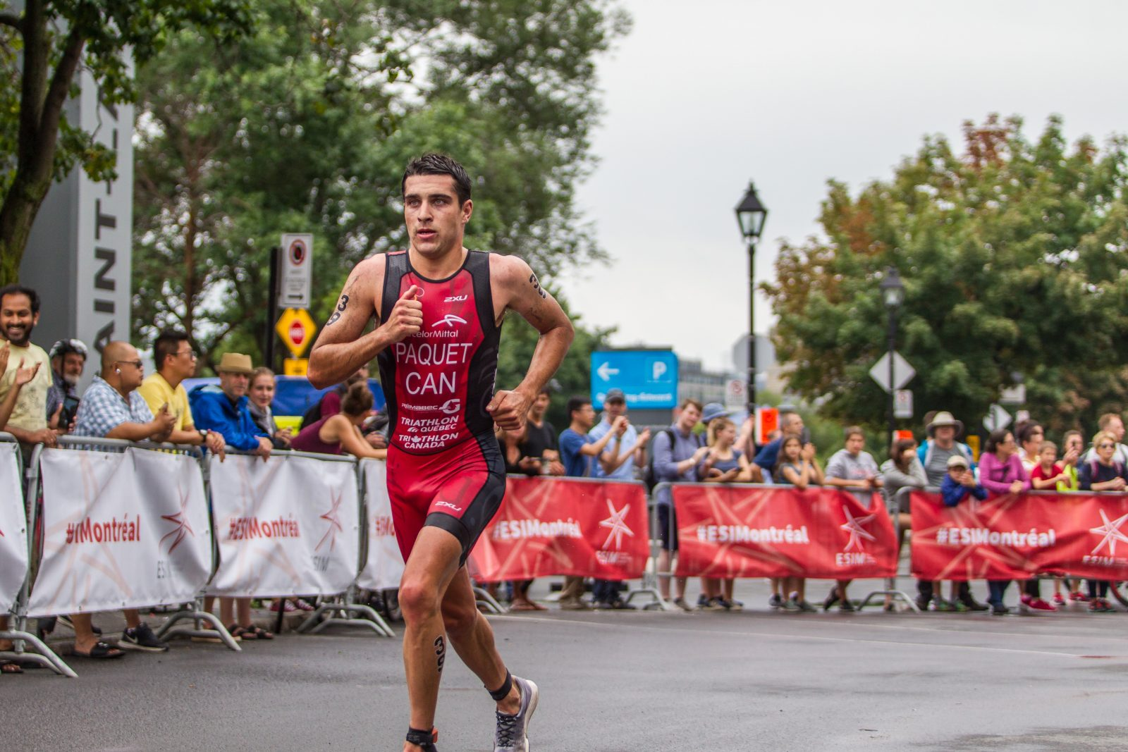 Triathlon Canada confirme Charles Paquet pour les Jeux Panaméricains