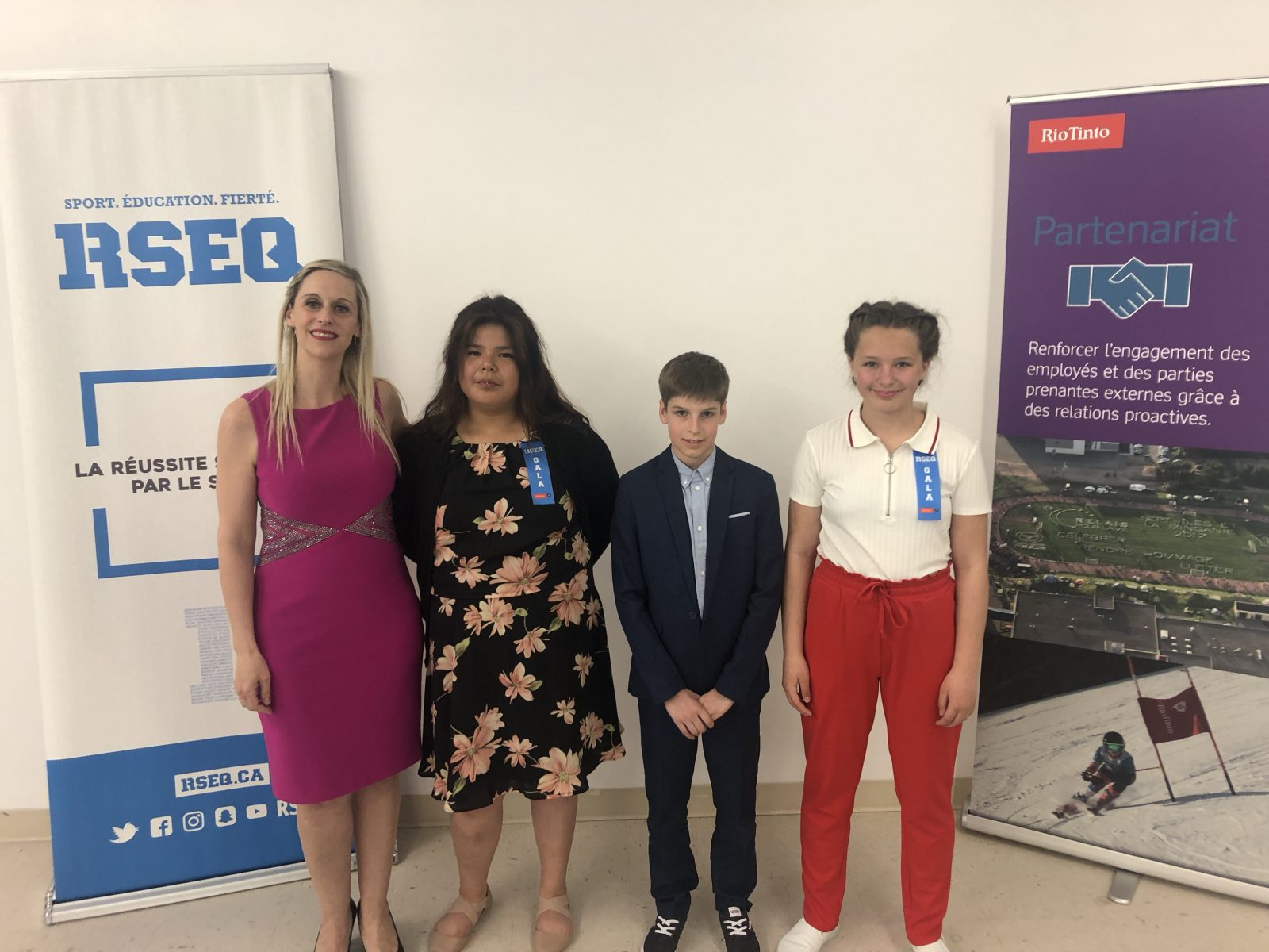Le RSEQ Côte-Nord compte trois finalistes au Gala provincial