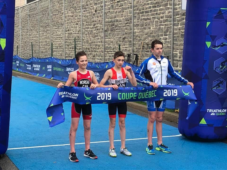 Isaac Moreau entame sa saison de triathlon en force