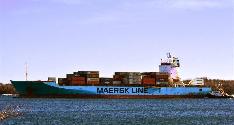 Marin à la mer : le Maersk Patras attendu à Montréal