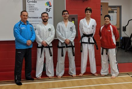 Ça change de grade au Club de taekwon-do ITF de Sept-Îles