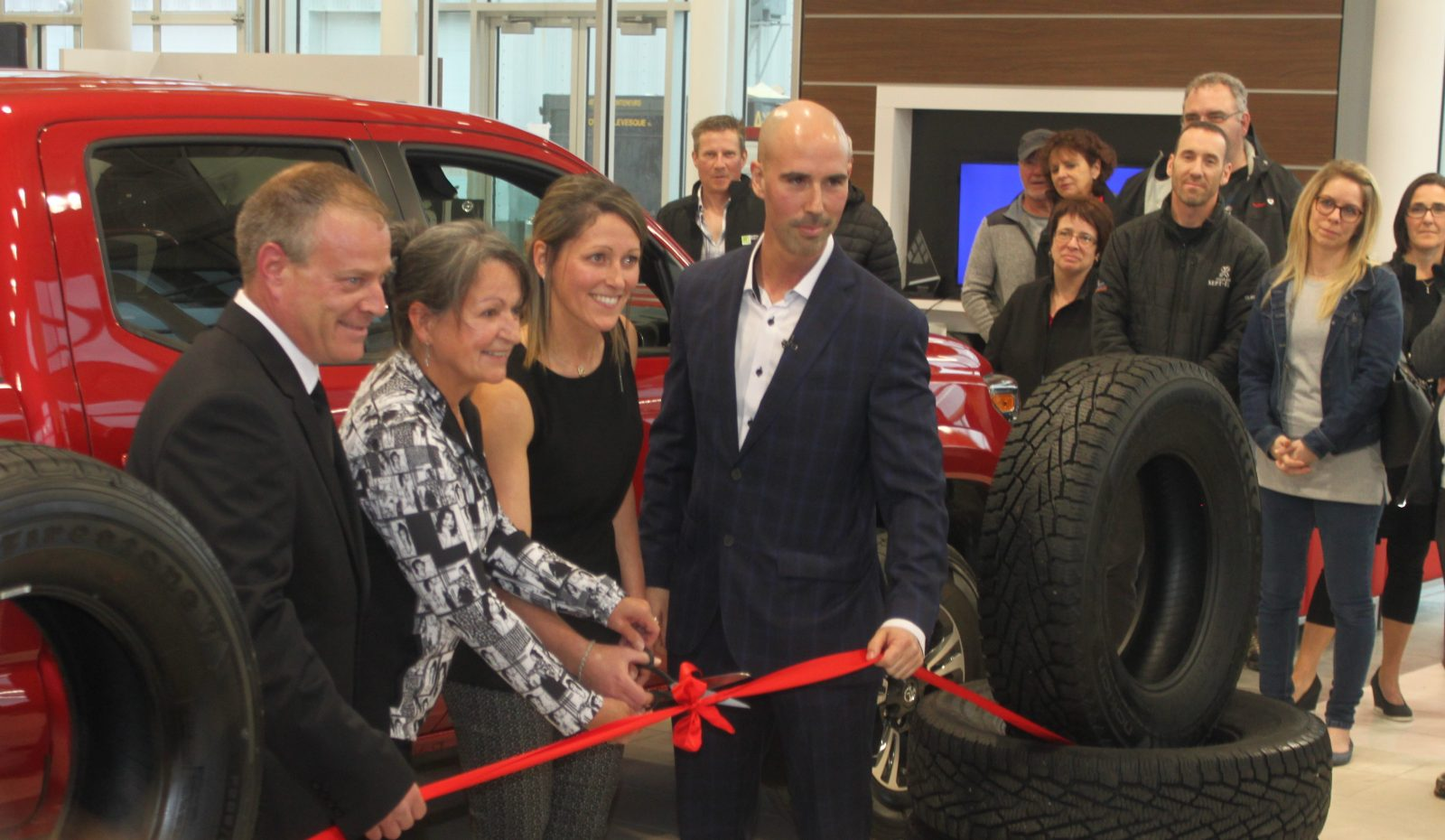 Sept-Îles Toyota inaugure ses nouveaux lieux