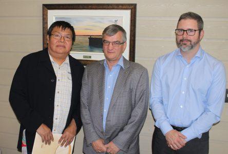 L'organisation des Jeux autochtones interbandes présentent ses partenaires et sa programmation