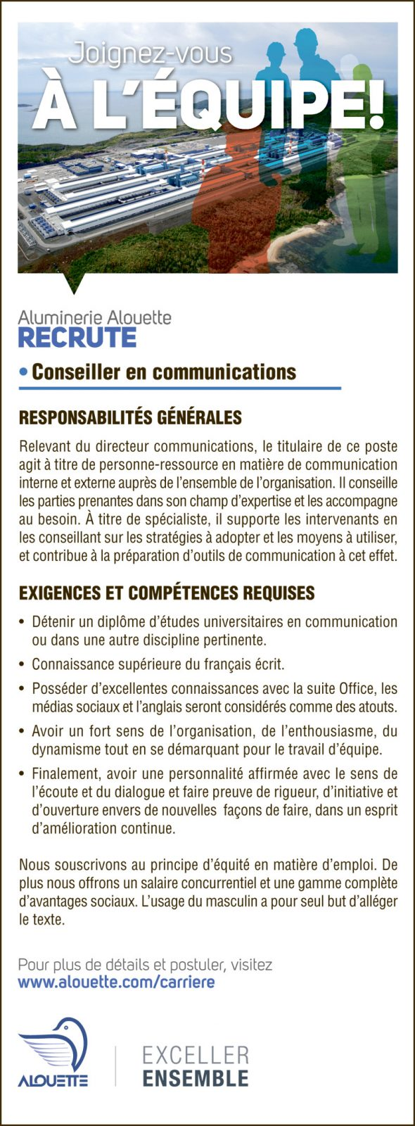 Conseiller en communications