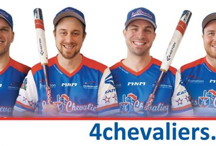 Les 4 Chevaliers Easton débarquent aux Jeux autochtones interbandes