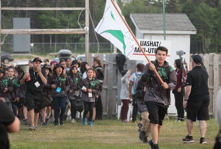 La cérémonie d'ouverture des Jeux autochtones interbandes en images