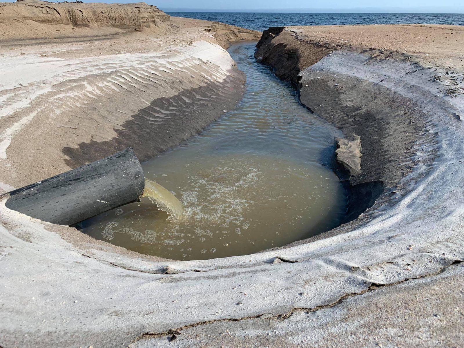 Déversement de l'eau usée au domaine Lévesque : solution temporaire à venir