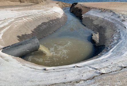 Le déversement des eaux usées à Moisie cessera cet automne