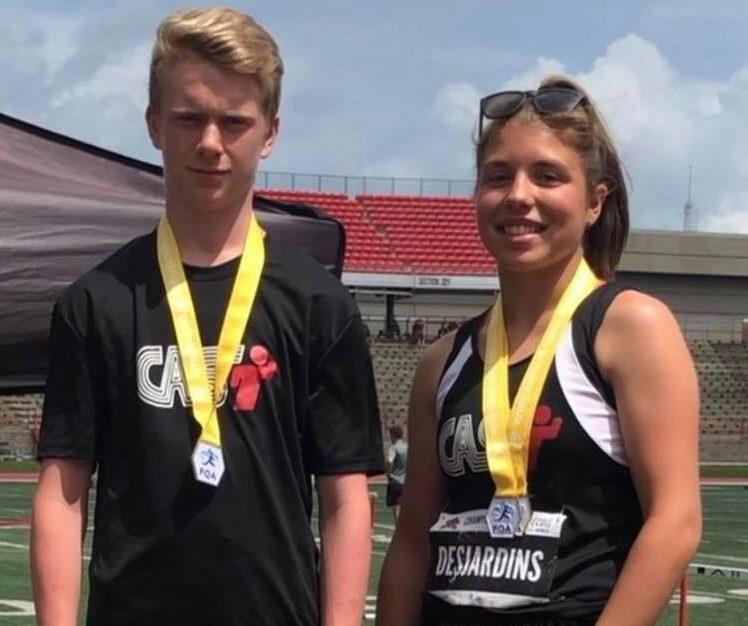 Croteau et Desjardins iront aux Championnats nationaux jeunesse