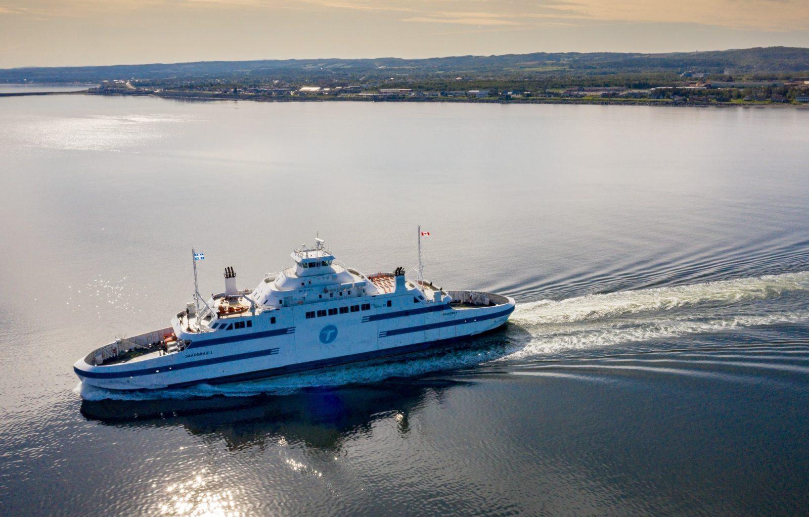 Traverse : bateau moins rapide et horaire modifié