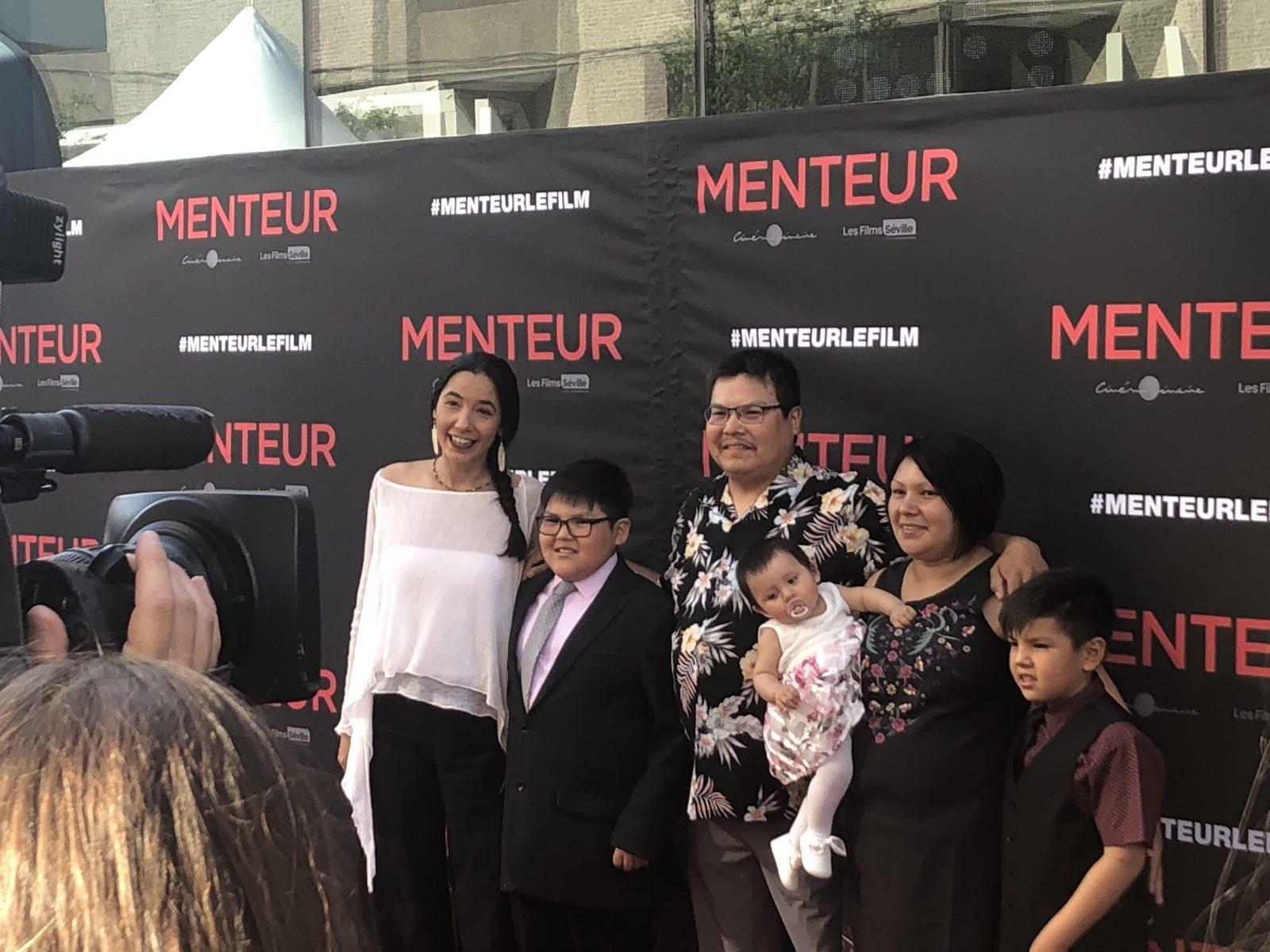 Le court-métrage d'un Innu de 10 ans diffusé en première partie du film Menteur