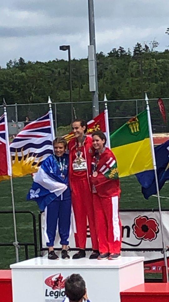 Championnat canadien jeunesse : Camille Desjardins remporte l'argent