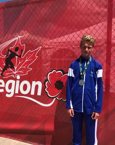 Jules Croteau remporte la médaille d'argent au championnat canadien de la jeunesse