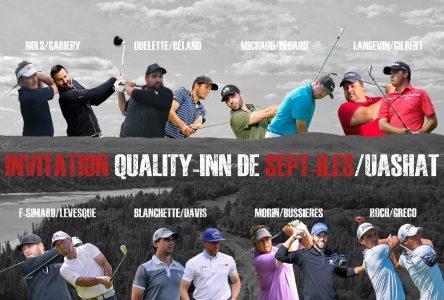 Invitation Quality Inn Sept-Îles/Uashat : Morin et Bussières à un coup de la tête après une ronde