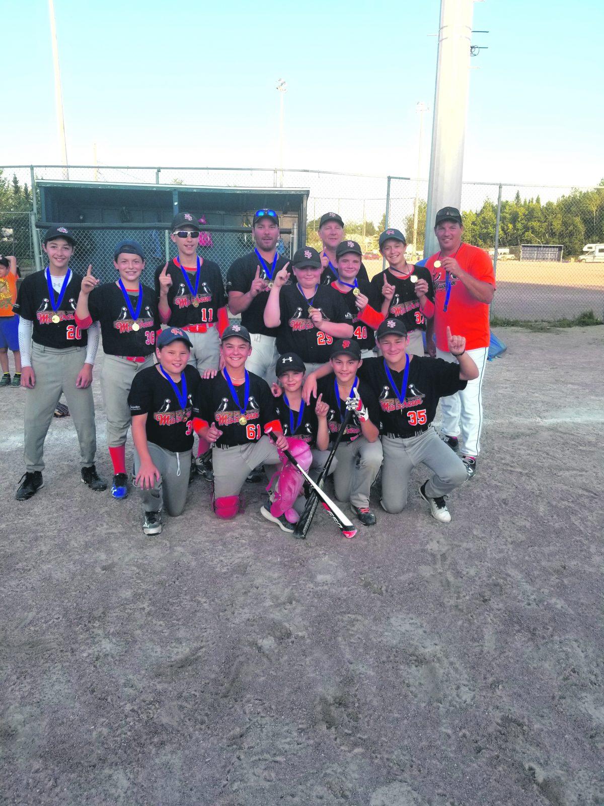 Championnats régionaux de baseball mineur : trois titres sur quatre à Baie-Comeau