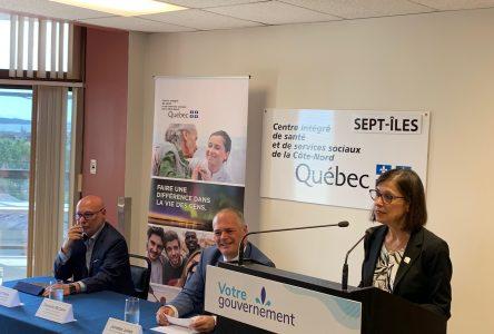 Québec bonifie le projet de réfection de l'urgence de l'hôpital de Sept-Îles