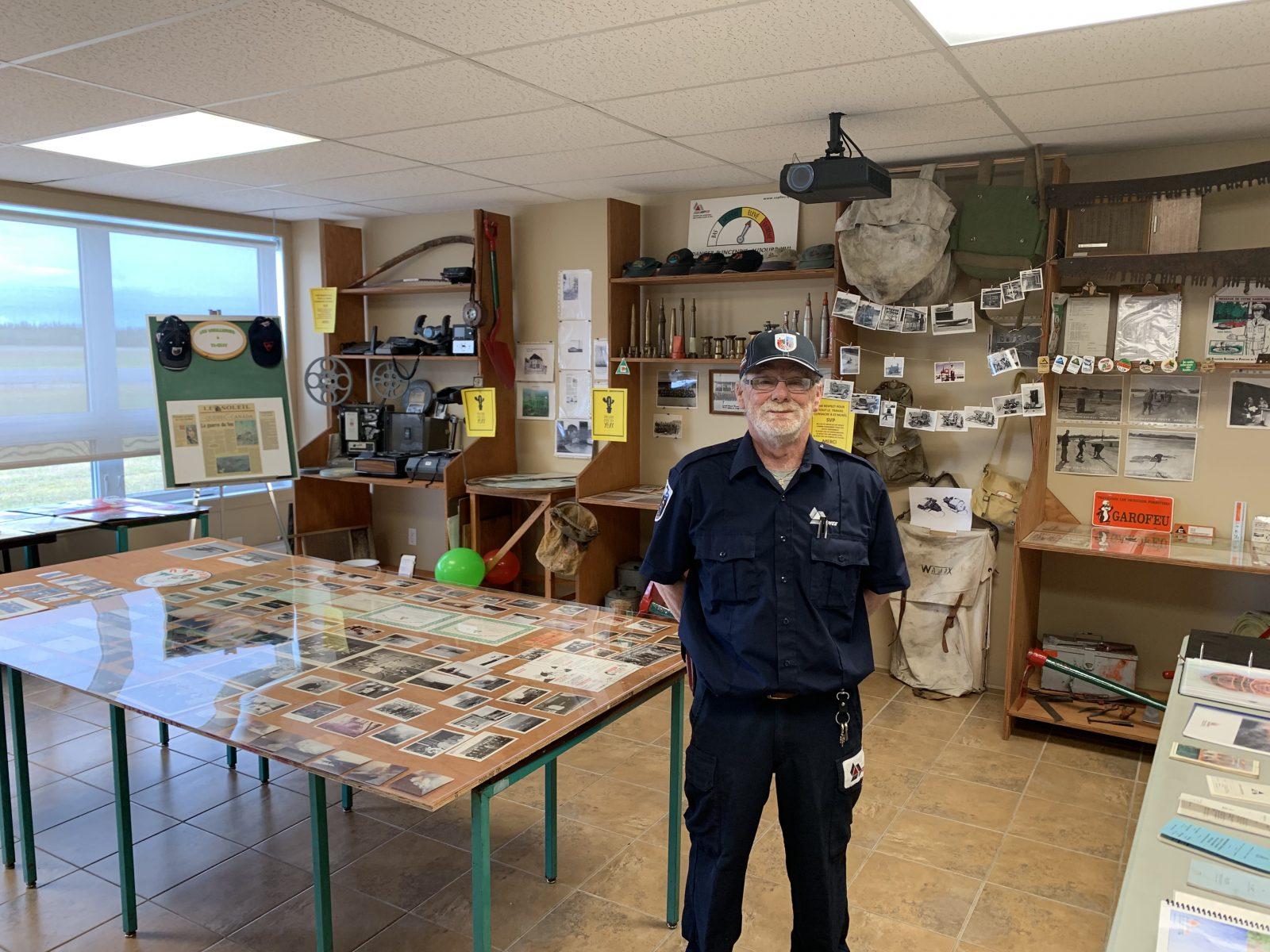 Les vieilleries à Ti-Guy : un musée de la SOPFEU à Sept-Îles
