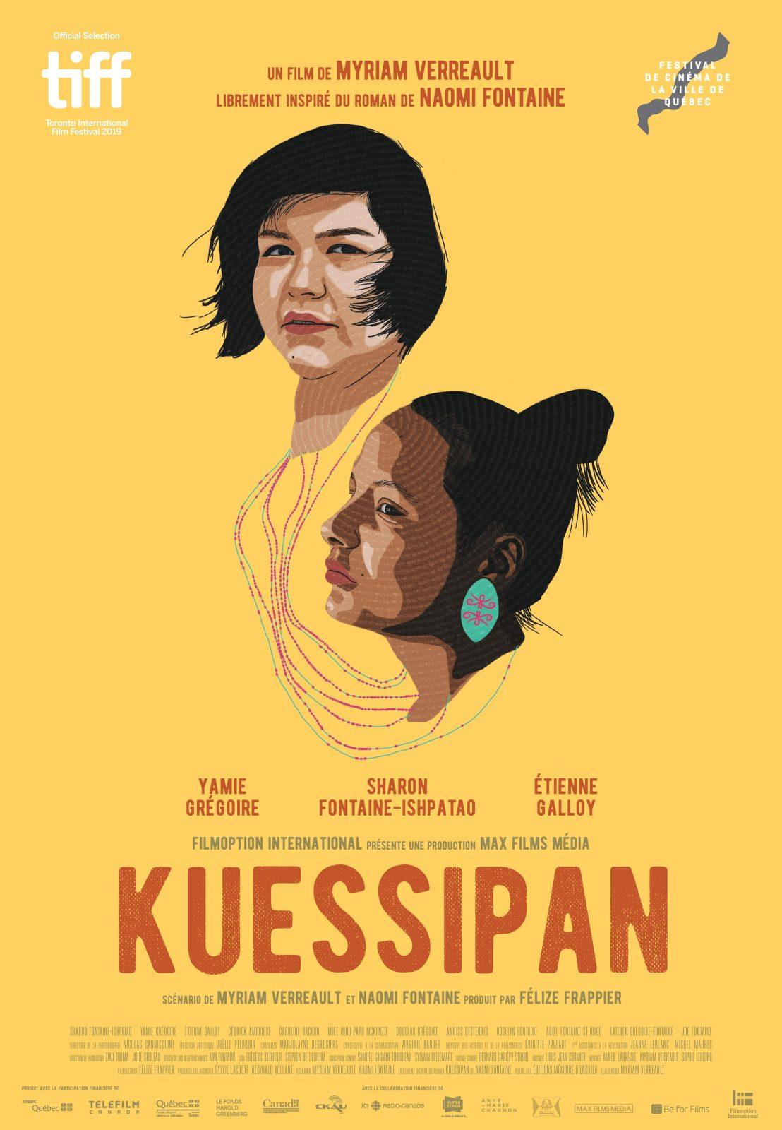 Kuessipan sera présenté au Festival de cinéma de la ville de Québec
