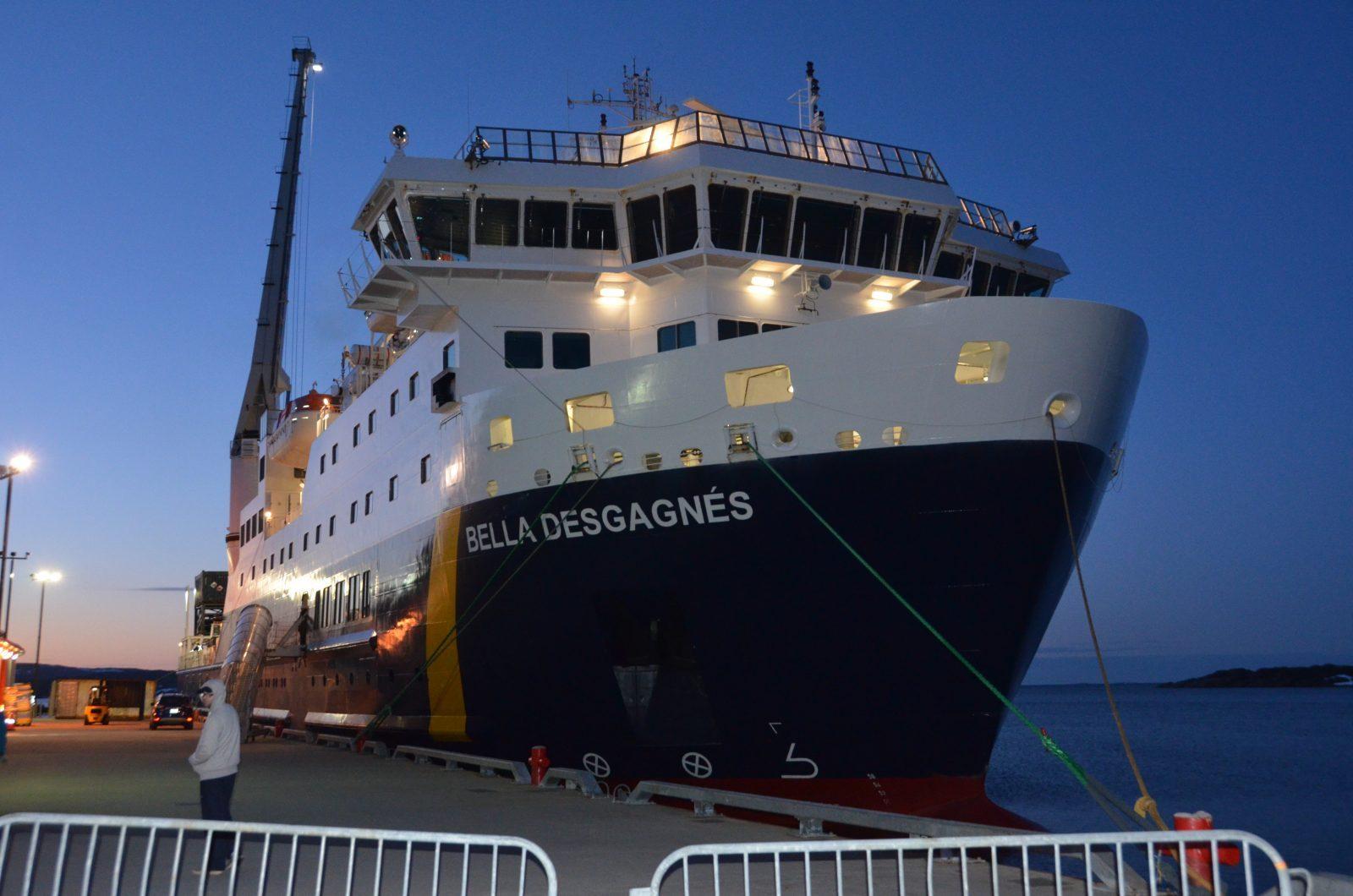 Bris du Bella Desgagné : Le transport par avion sera offert aux résidents de la Basse-Côte-Nord