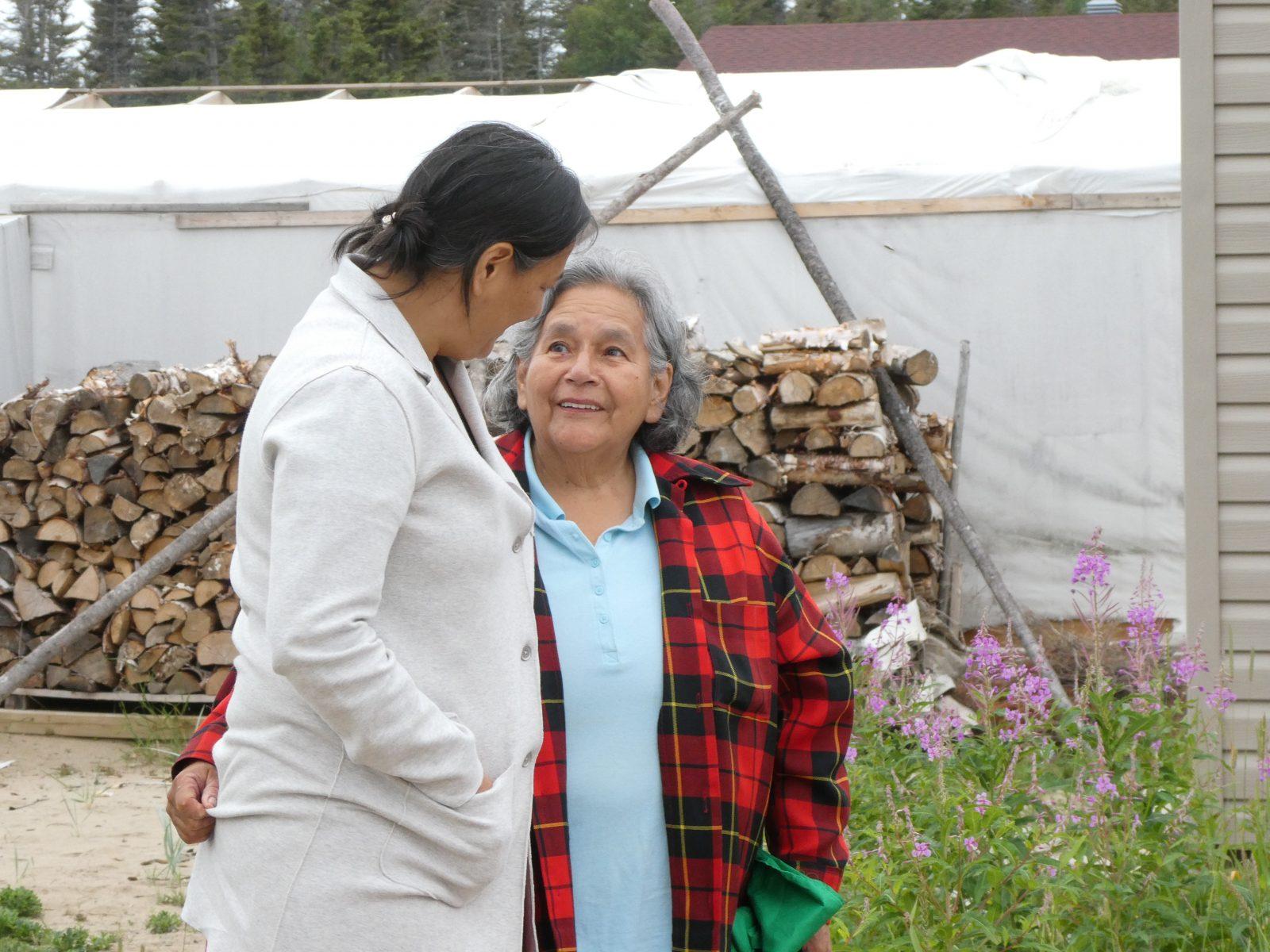 Un feu sacré pour les pleurs des autochtones