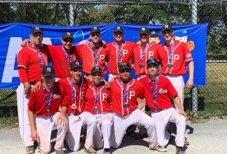 Baseball Québec: trois médailles pour la Côte-Nord