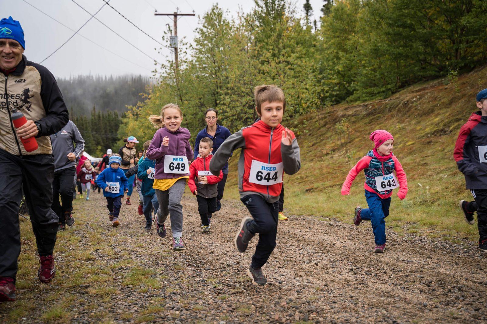 Participation presque triplée à la Trail du lac des Rapides 2019