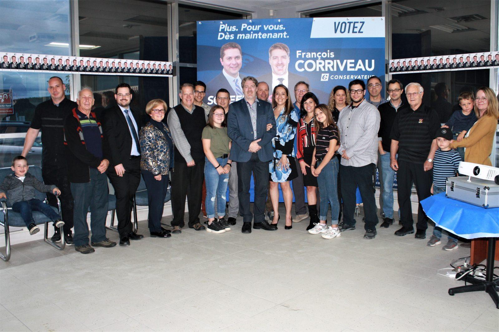 François Corriveau jette son fiel sur Trudeau