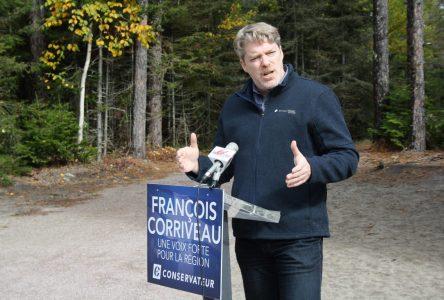 François Corriveau entend supporter l'écotourisme