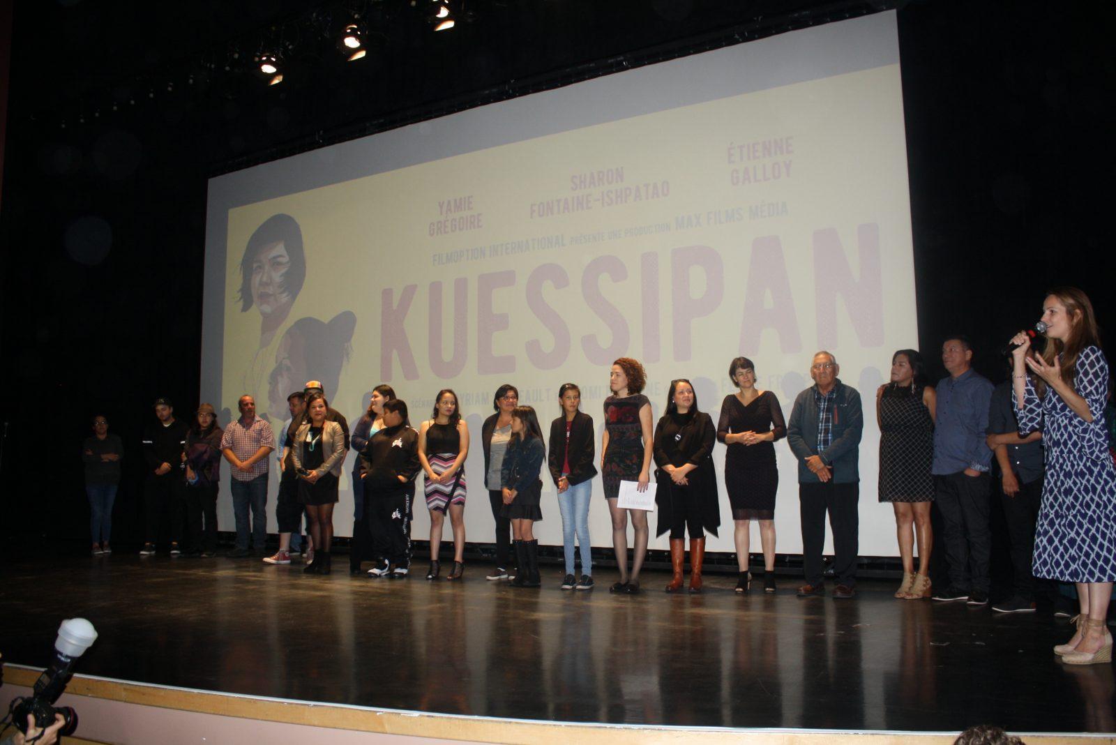 Une première nord-côtière de <i>Kuessipan</i> émouvante à la Salle Jean-Marc-Dion