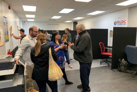 Élections : Marilène Gill ouvre ses locaux de campagne