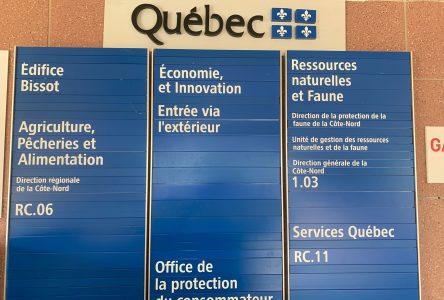 Augmentation du nombre de fonctionnaires sur la Côte-Nord