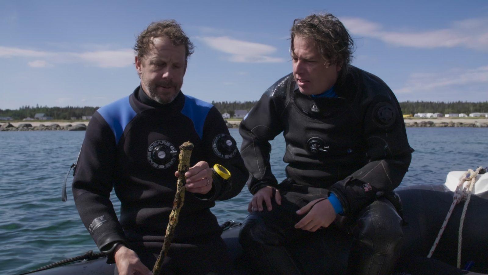 Documentaire <i>Le naufrage de l'île aux œufs</i> : une captivante leçon d'histoire donnée par Patrick Bourgeois