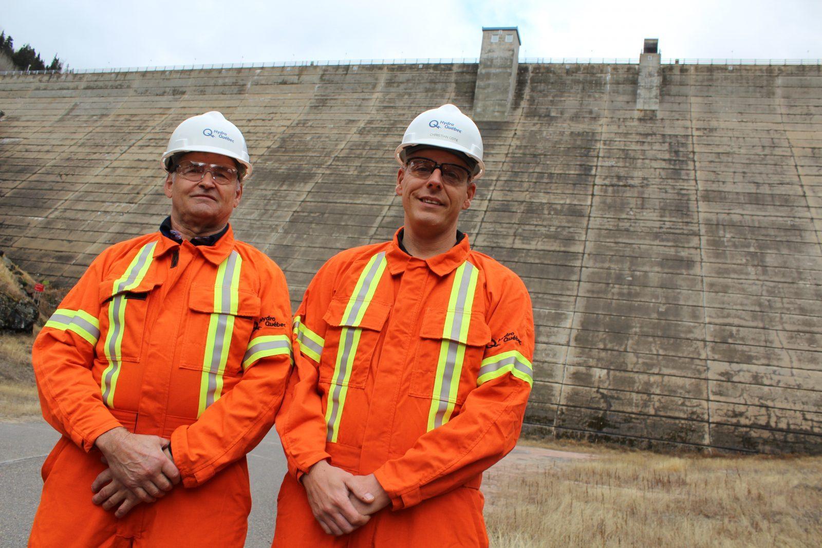Hydro-Québec ouvre les portes d'Outardes-3