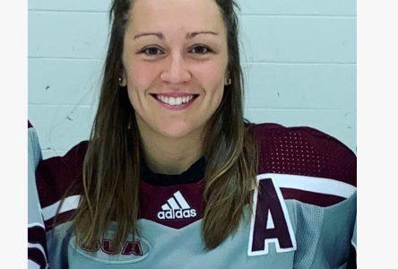 Mélodie Bouchard dispute sa dernière saison de hockey universitaire