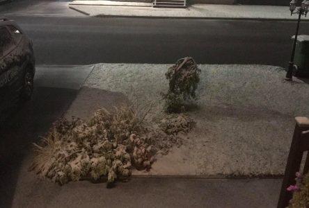 Une neige du 1er octobre qui sort de l'ordinaire