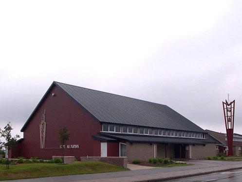 La Ville de Port-Cartier récupère l'église Saint-Alexandre