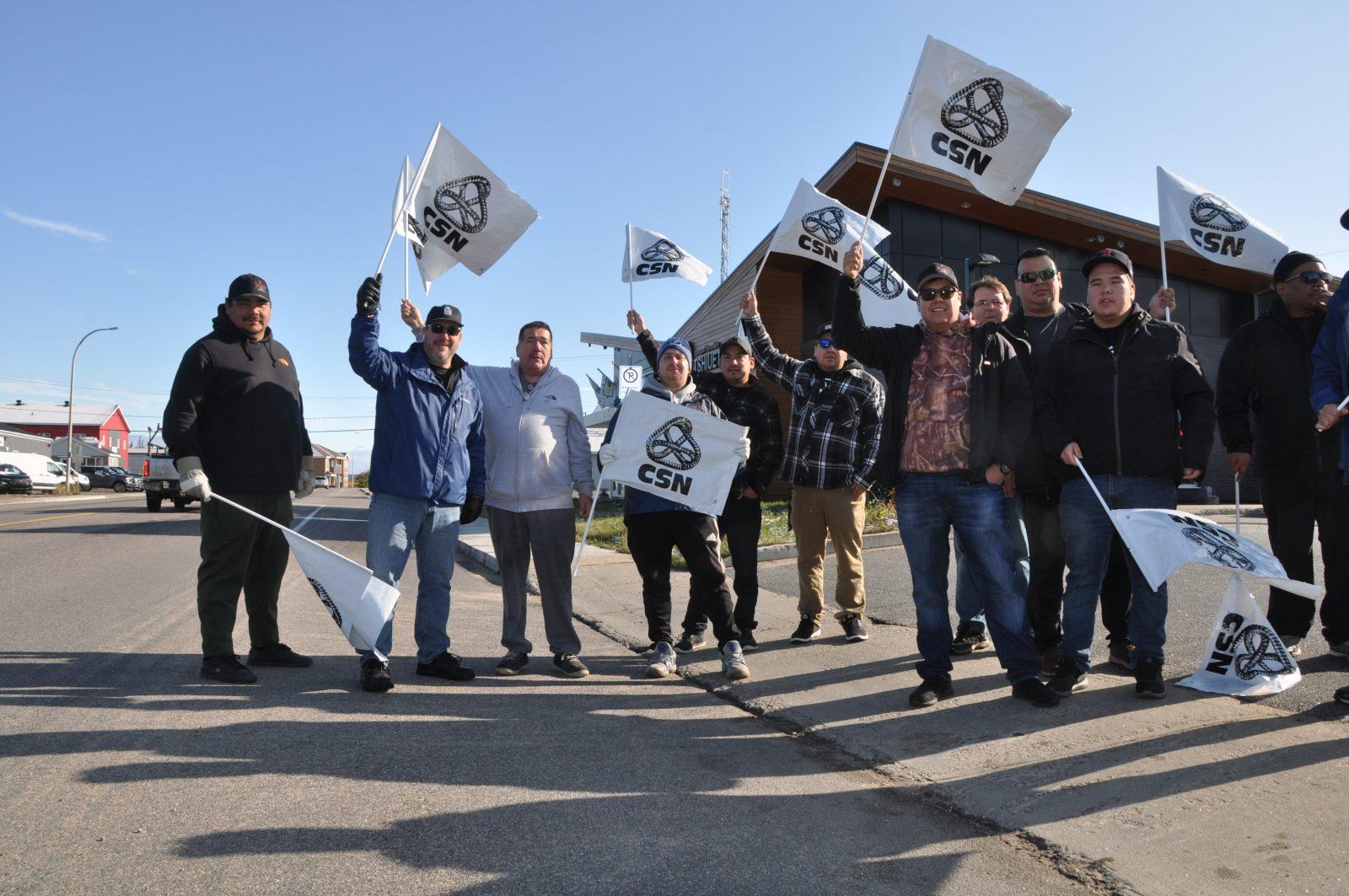 La grève est suspendue chez Tshiuetin