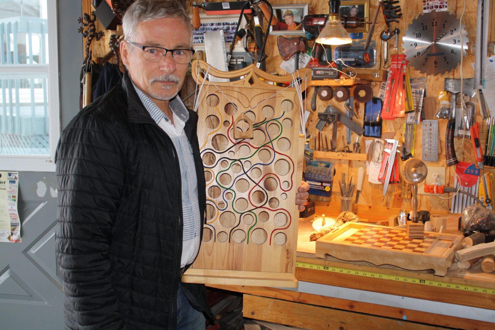 Donald Poirier redonne une deuxième vie au bois