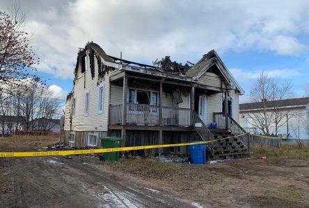 Un homme sauvé in extremis d'un incendie à Sept-Îles