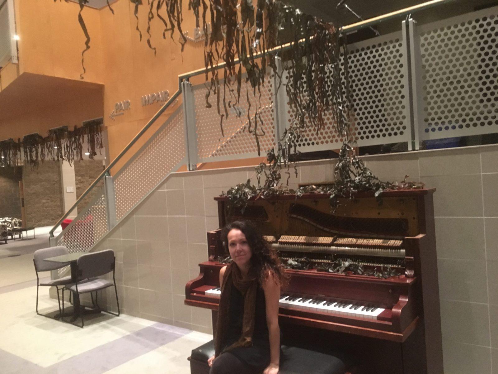Nady Larchet présente une installation sonore sur la Côte-Nord